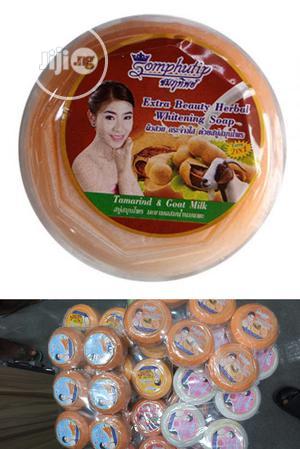 Somphutip Tamarind Goatmilk Extra Beauty Herbal Soap 6pcs | Bath & Body for sale in Lagos State, Amuwo-Odofin