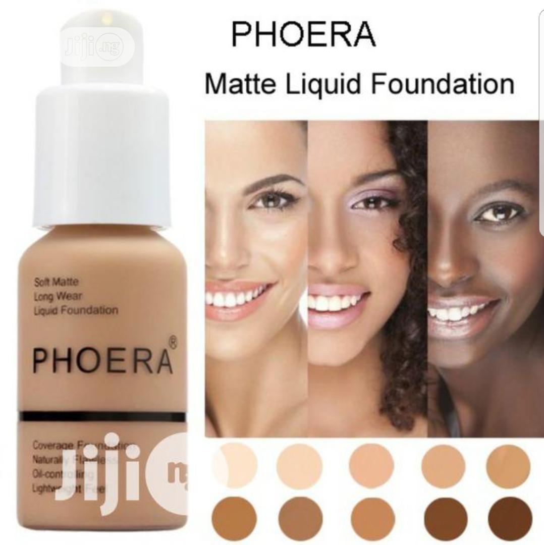 Pheora Flawless Liquid Matte Foundation Full Coverage 30ml In Gbagada Makeup Shevy 39 S Beauty Shevy 39 S Beauty Jiji Ng