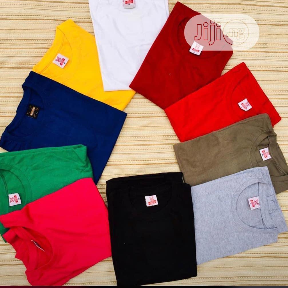 Archive: Plain T-shirts