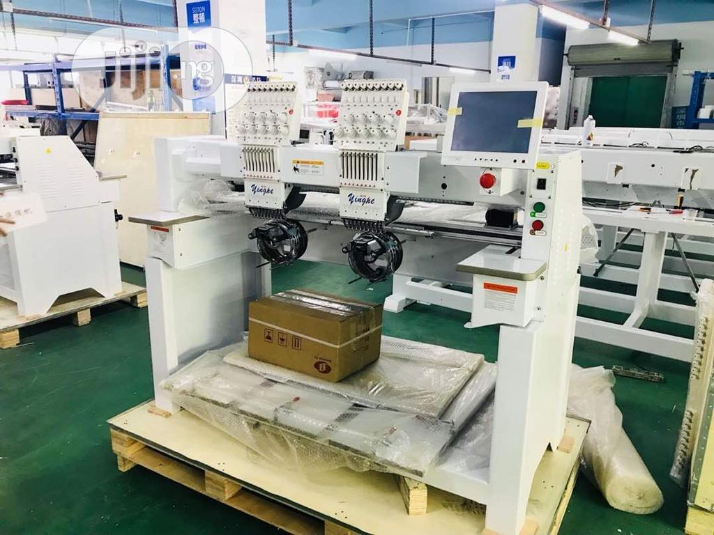 Brand New Double Head Embroidery Machine