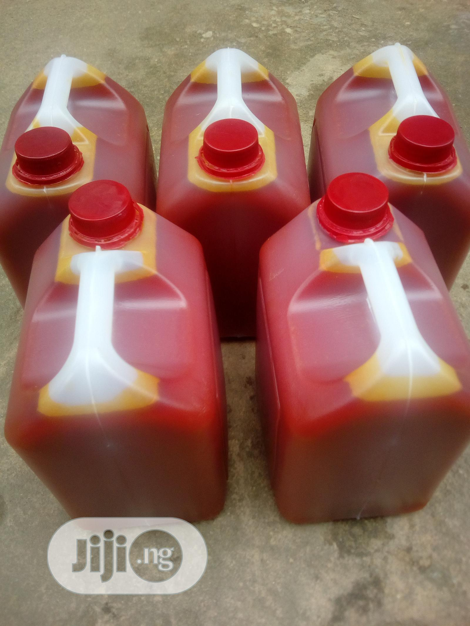 Archive: Fresh Red Palm Oil