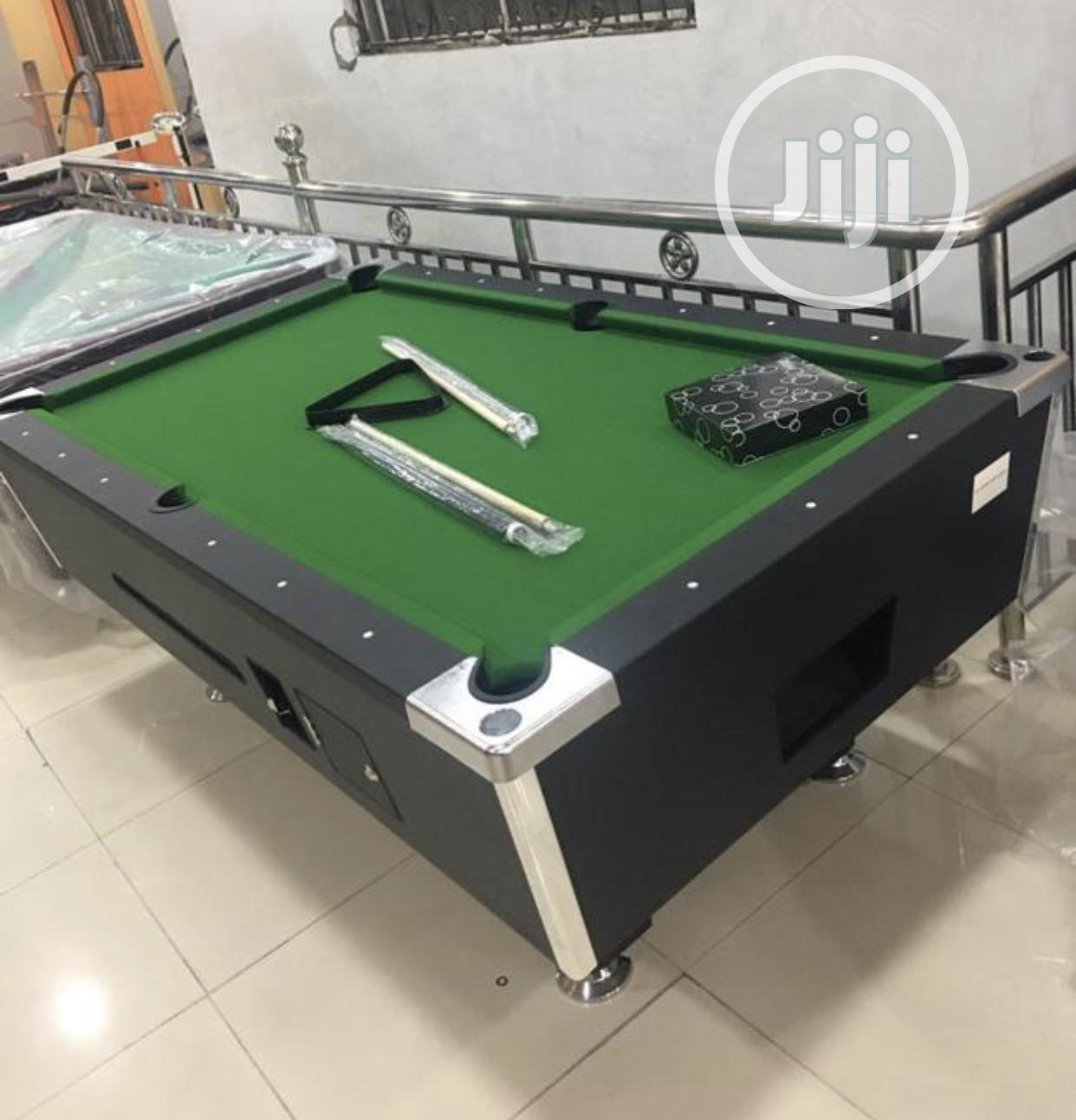8ft Coin Snooker Board