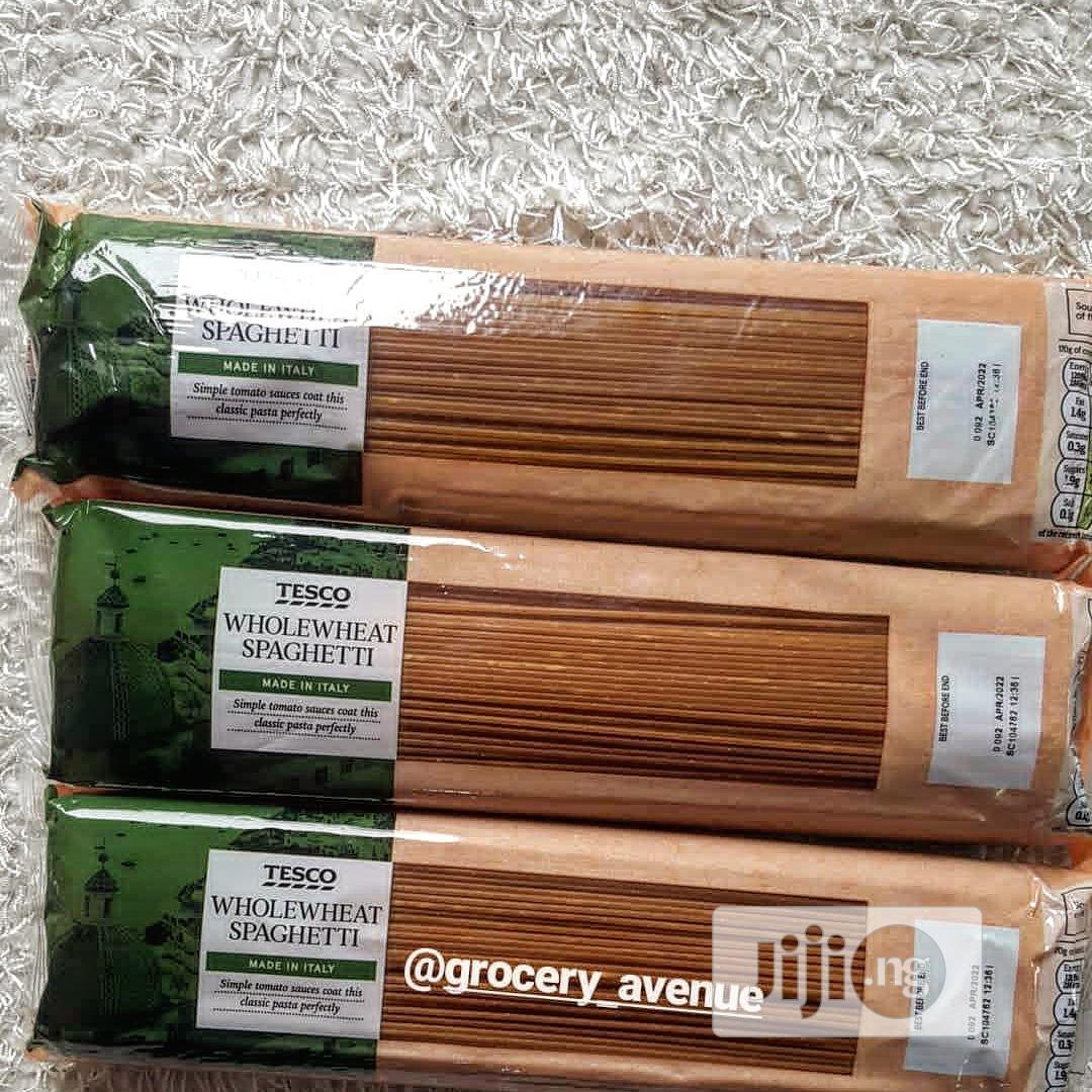 Tesco Wholewheat Spaghetti
