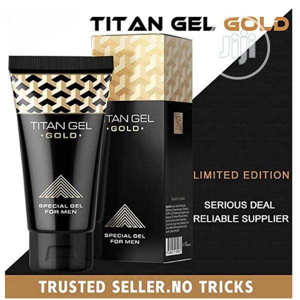 Titan Gel Penis Enlargement Cream Titan Gel Gold ( LONG PENI | Sexual Wellness for sale in Alimosho, Lagos State, Nigeria