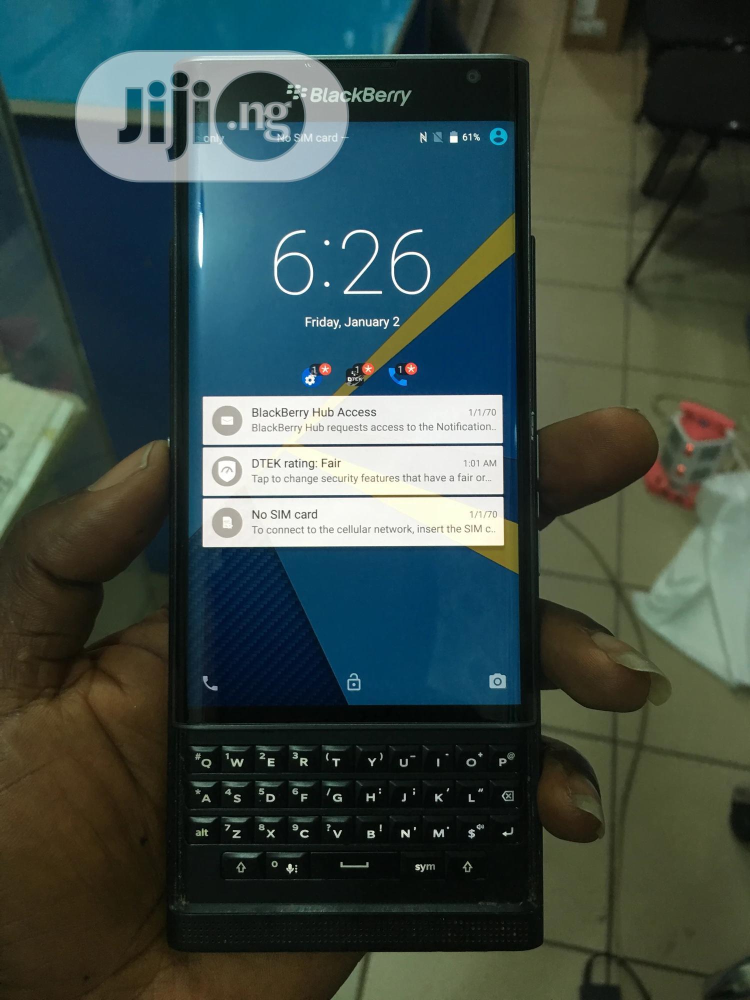 BlackBerry Priv 32 GB Black | Mobile Phones for sale in Wuse 2, Abuja (FCT) State, Nigeria