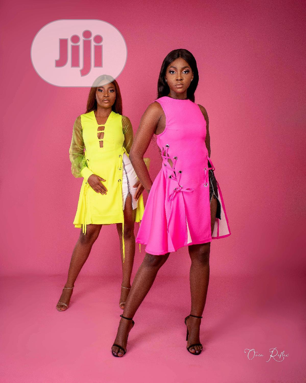 Short Dress And Skirt