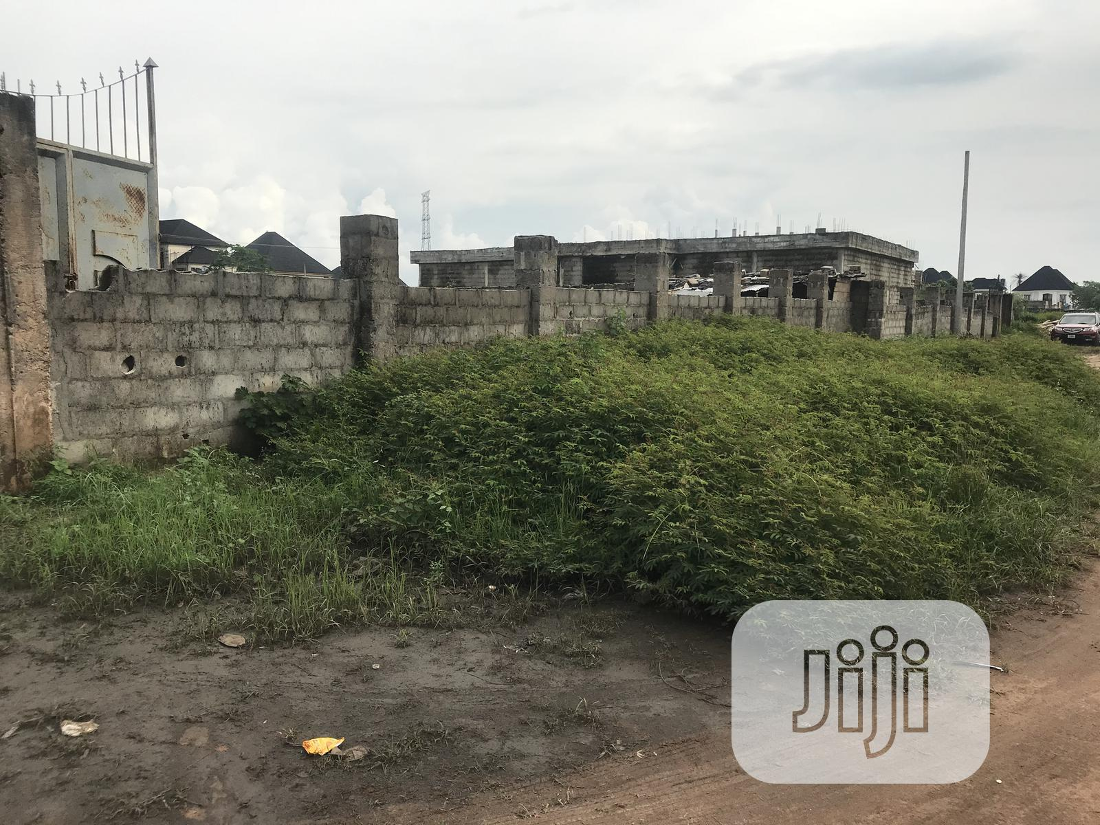 1000 Square Meters Of Land Facing A Dual Lane For Commercial | Land & Plots for Rent for sale in Owerri, Imo State, Nigeria