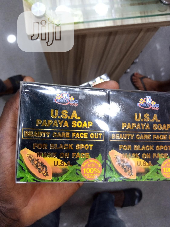U.S.A Papaya Soap For Black Spot.