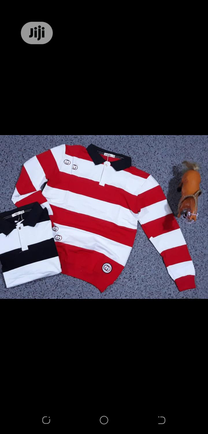 Quality Long Sleeve Male Polo | Clothing for sale in Ikeja, Lagos State, Nigeria