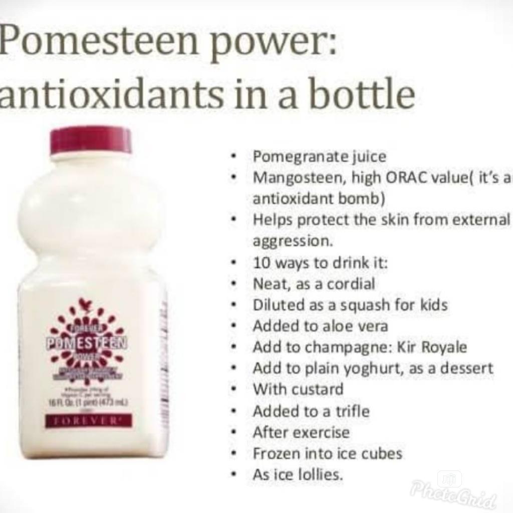 Archive: FOREVER POMESTEEN POWER: Powerful Antioxidants, Immune Boost