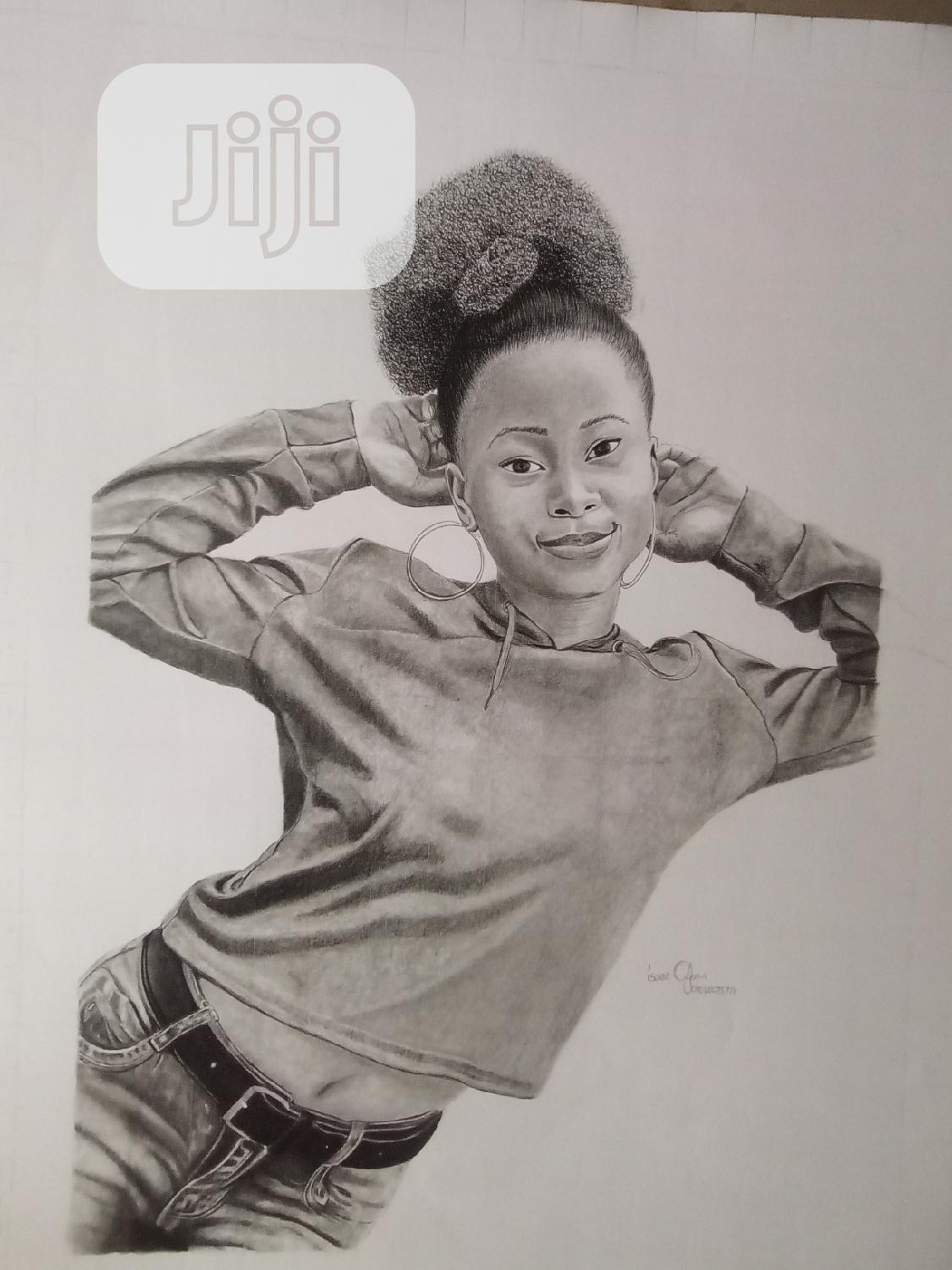 Art Gift Is the Best Choice (Pencil Art Drawing)