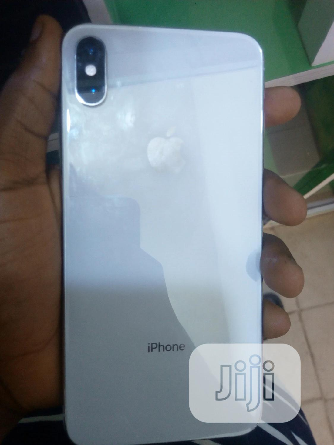 Apple iPhone XS Max 512 GB Silver | Mobile Phones for sale in Benin City, Edo State, Nigeria