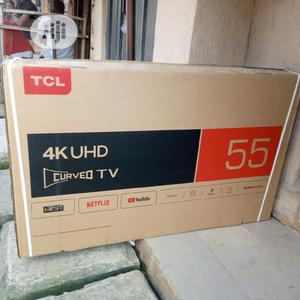 Tcl 55 Inches Curve Android Television 4k With Netflix | TV & DVD Equipment for sale in Lagos State, Lagos Island (Eko)