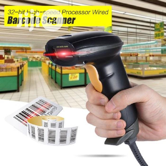 USB Wired Handheld 1D Barcode Bar Code Scanner Reader | Store Equipment for sale in Ikeja, Lagos State, Nigeria