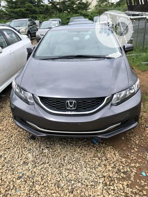 Honda Civic 2014 Gray   Cars for sale in Abuja (FCT) State, Gwarinpa