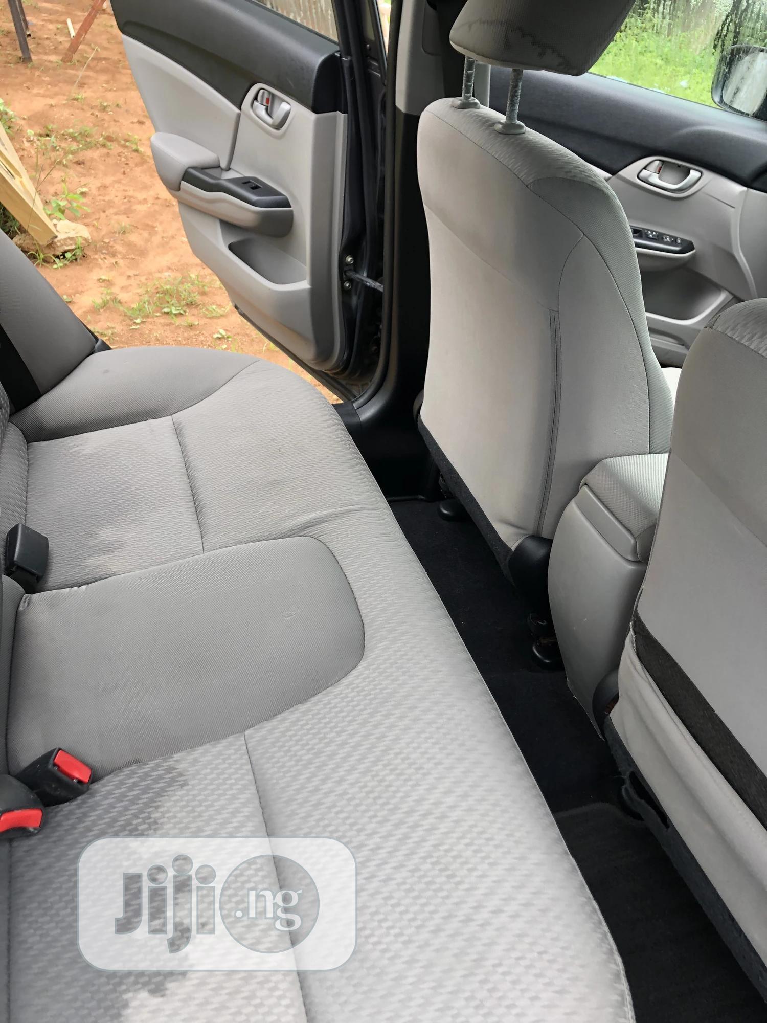 Honda Civic 2014 Gray | Cars for sale in Gwarinpa, Abuja (FCT) State, Nigeria