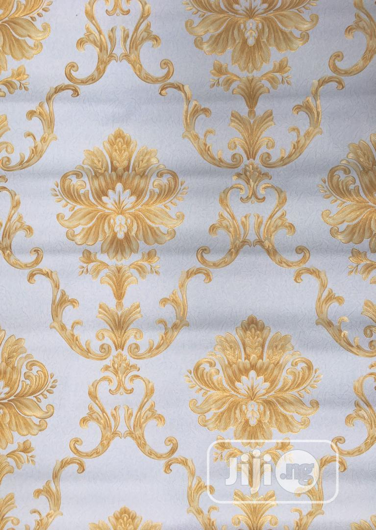 3D Wallpaper Gold