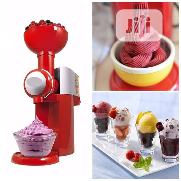 Fruits Ice Cream Maker.
