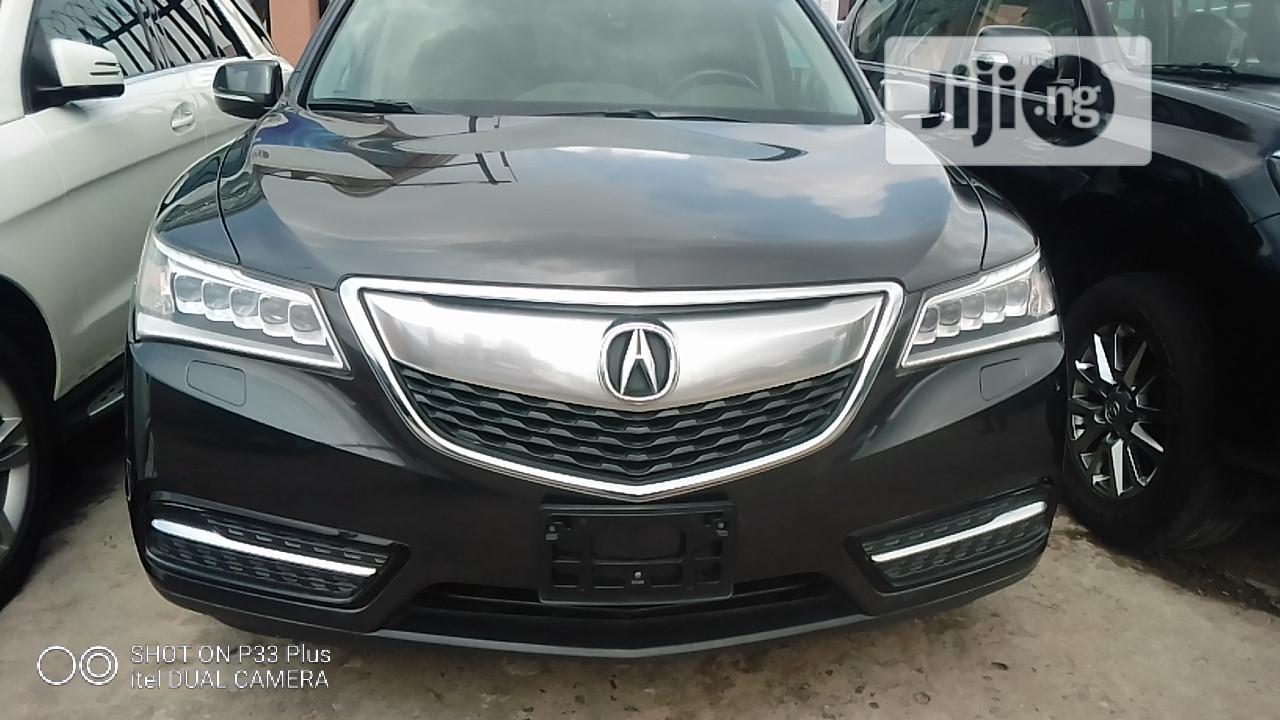 Acura MDX 2014 Gray