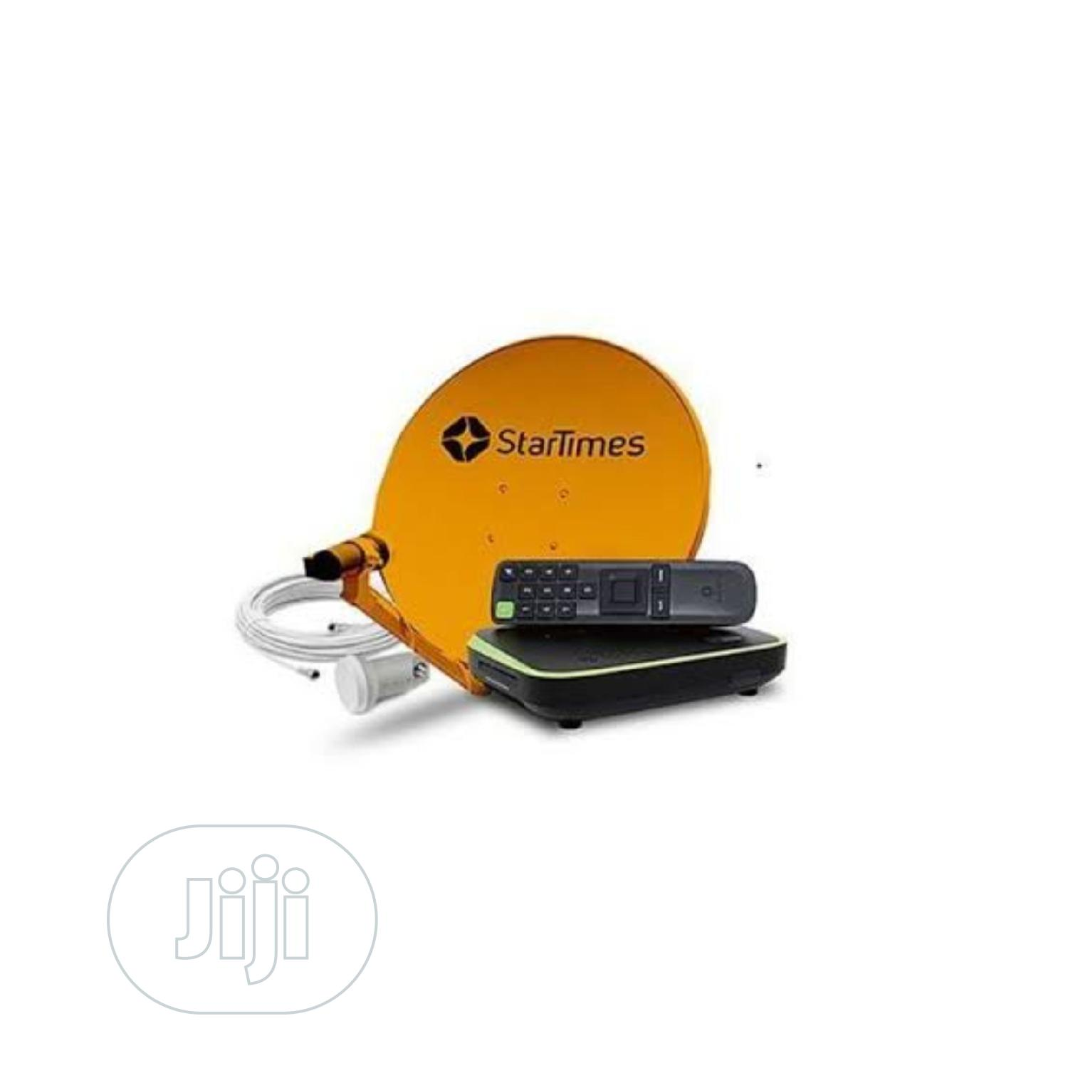 Startimes HD Decoder With Dish Accessories