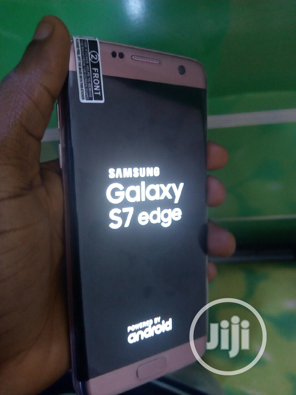 Samsung Galaxy S7 edge 32 GB Gold | Mobile Phones for sale in Benin City, Edo State, Nigeria