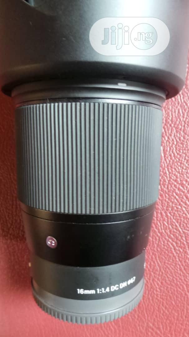 SIGMA 16mm 1:1.4 Lens