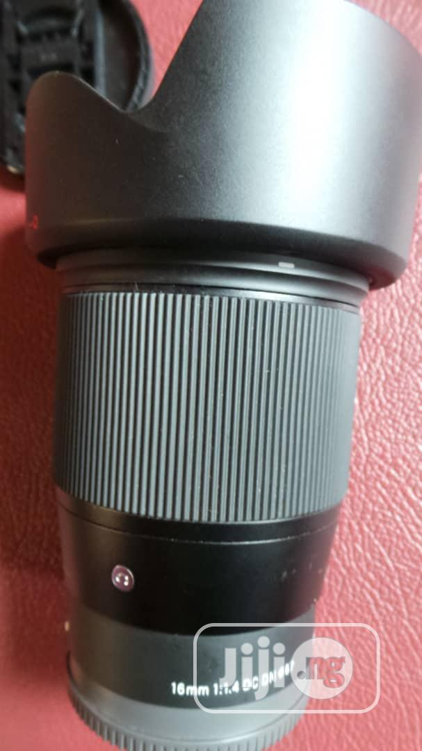 SIGMA 16mm 1:1.4 Lens | Accessories & Supplies for Electronics for sale in Alimosho, Lagos State, Nigeria