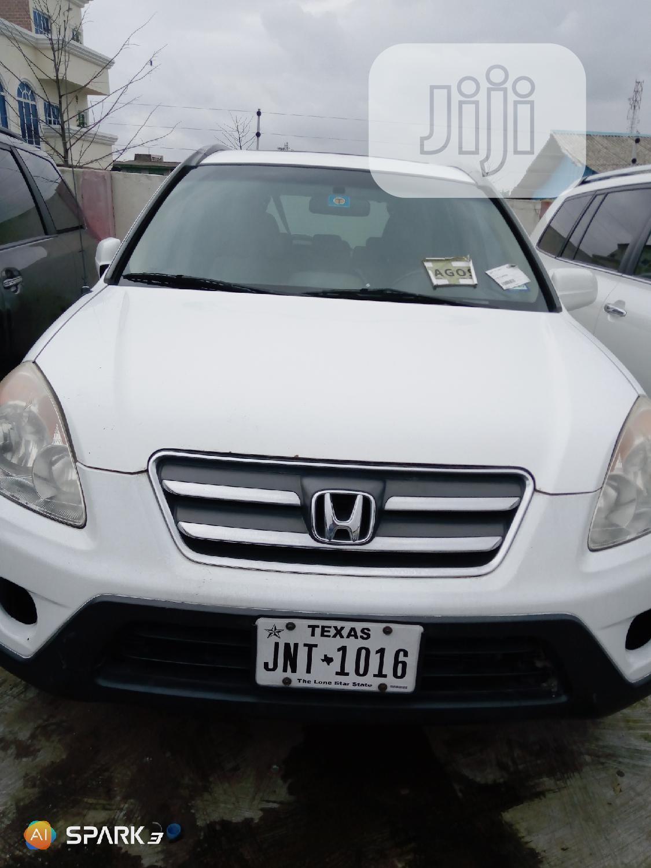 Honda CR-V 2005 White