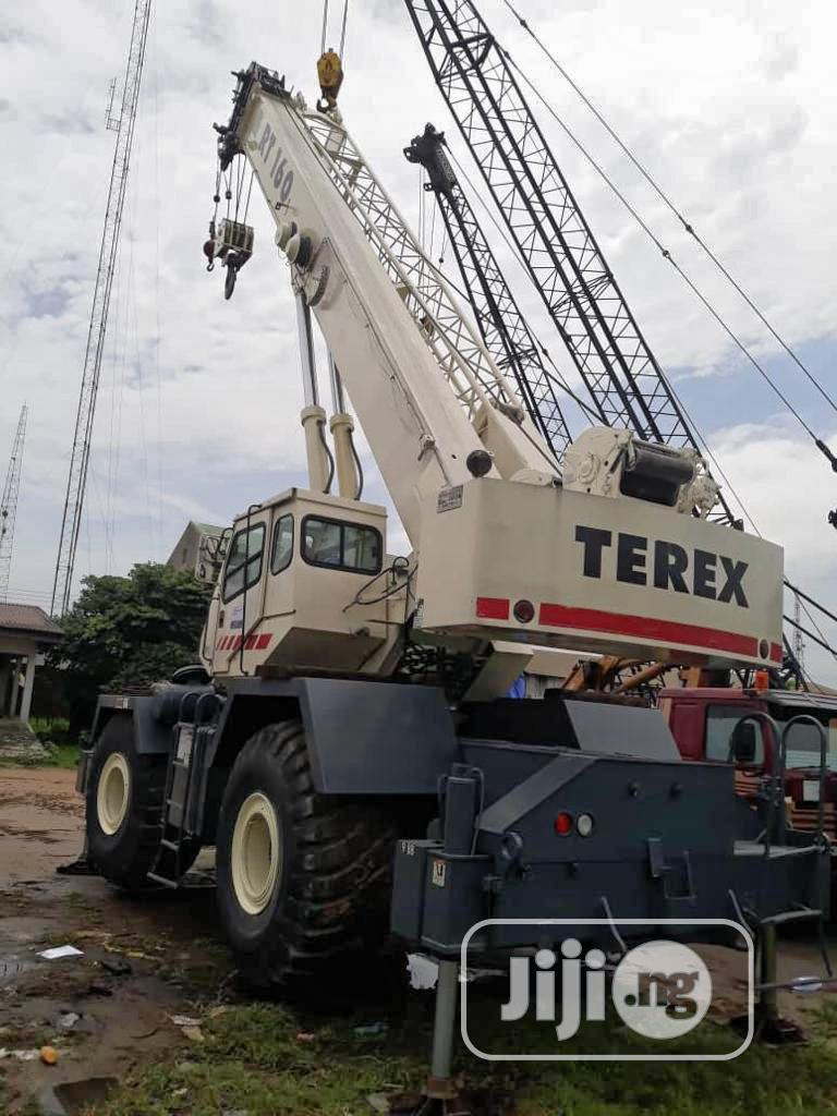 60 Ton Terex (4#4)Rt 160 | Heavy Equipment for sale in Port-Harcourt, Rivers State, Nigeria