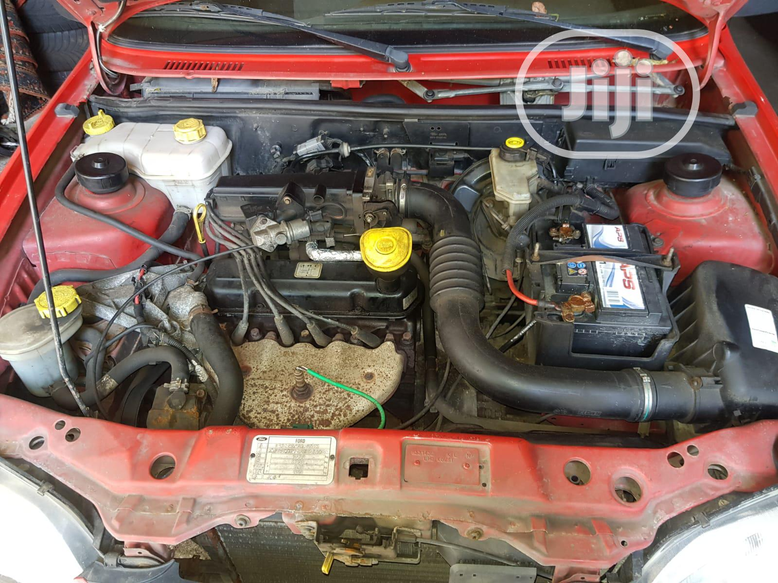 Ford Fiesta 1999 1.3 Endura E Budget Red | Cars for sale in Surulere, Lagos State, Nigeria