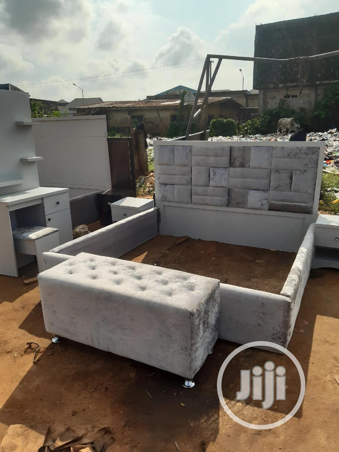 6x6 Bed Set | Furniture for sale in Ojo, Lagos State, Nigeria