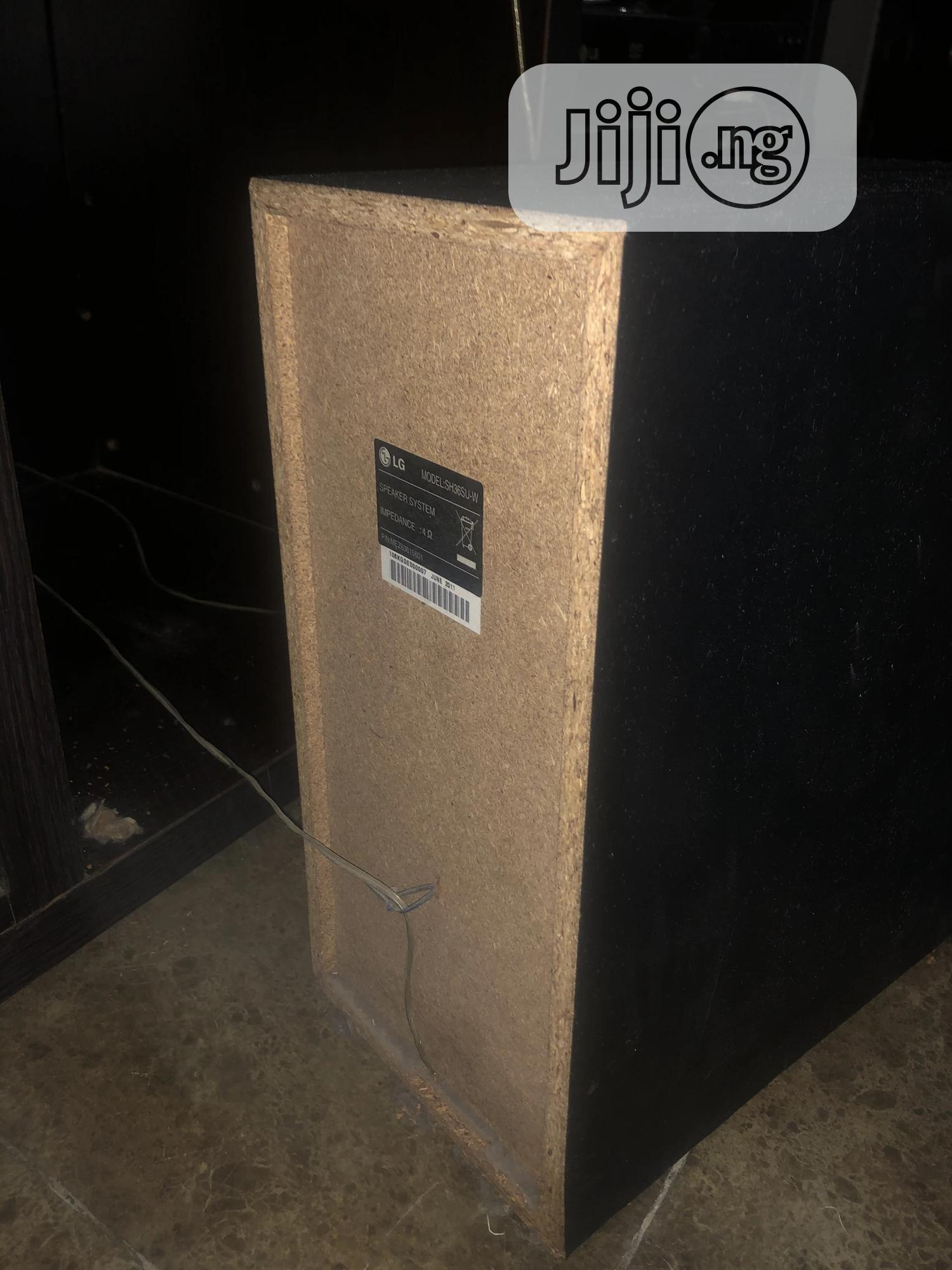 Archive: LG Home Theater Subwoofer And Speakers For Sale.