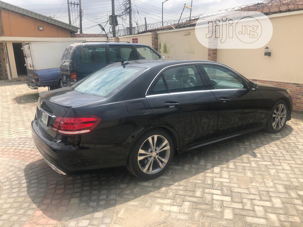 Mercedes-Benz E350 2015 Black | Cars for sale in Surulere, Lagos State, Nigeria
