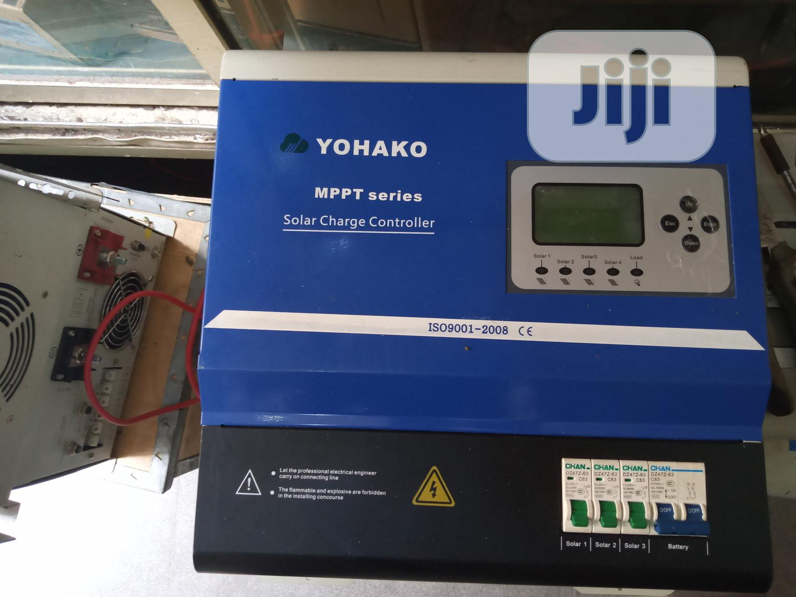 Archive: Yohako 180v 80ah Charge Controller