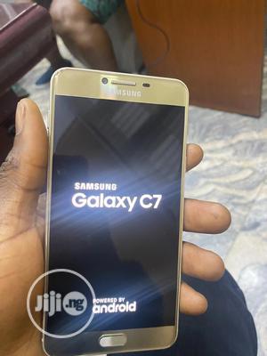 Samsung Galaxy C7 64 GB Gold | Mobile Phones for sale in Lagos State, Lagos Island (Eko)