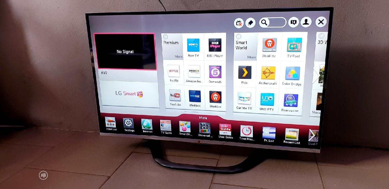 42 Inches LG Smart Full HD Borderles 3D Led Tv   TV & DVD Equipment for sale in Ojo, Lagos State, Nigeria