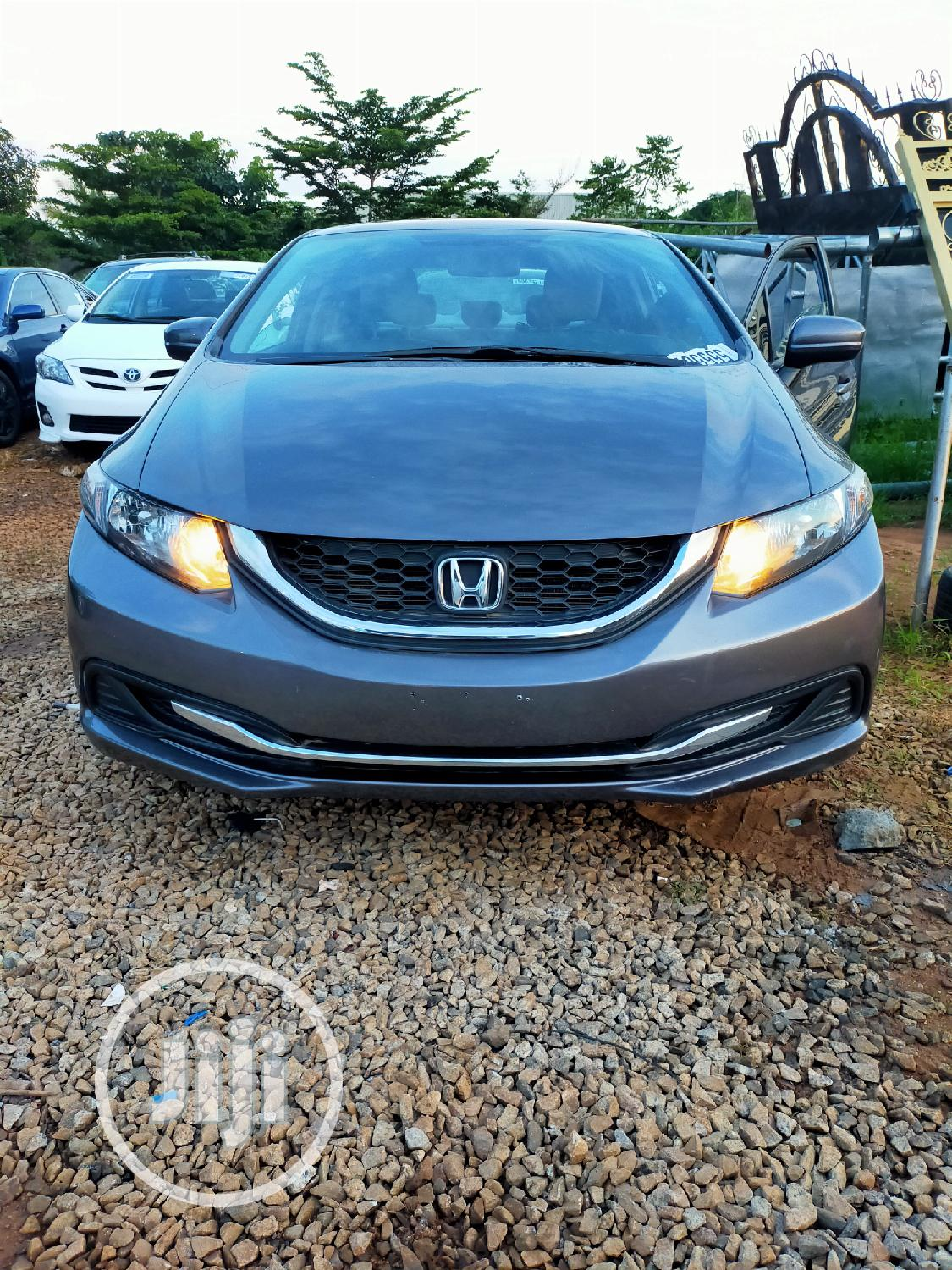Honda Civic 2014 Gray | Cars for sale in Gwarinpa, Abuja (FCT) State, Nigeria