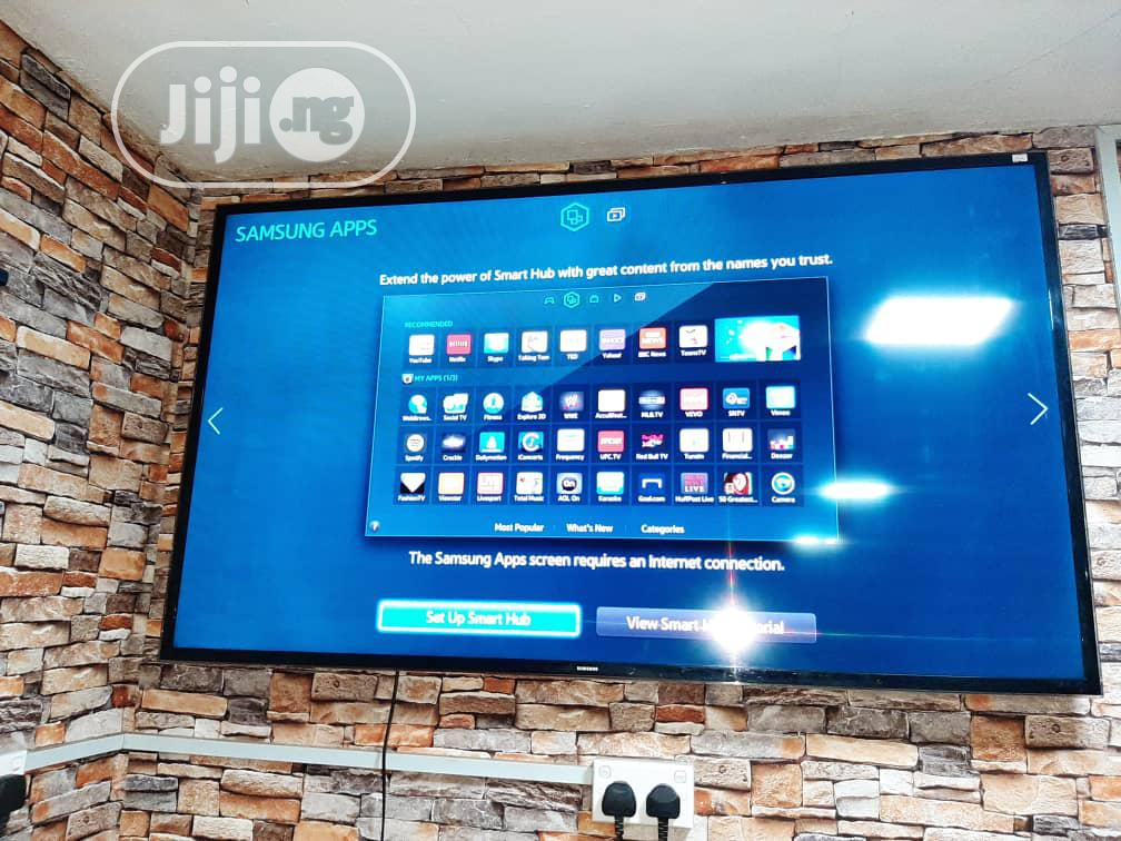 60 Inches Samsung Smart Full HD 3D Flat Led UE60H6400 | TV & DVD Equipment for sale in Ojo, Lagos State, Nigeria