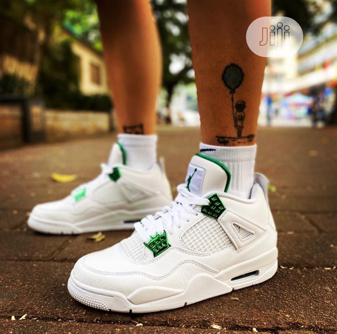 "Air Jordan 4 ""Metallic Green"" Unisex"