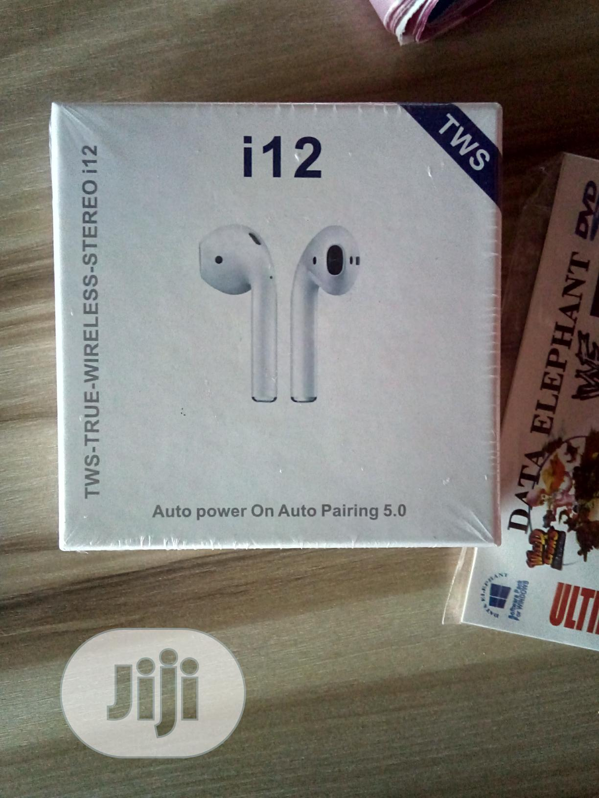 I12 Tws Headsets | Accessories for Mobile Phones & Tablets for sale in Alimosho, Lagos State, Nigeria