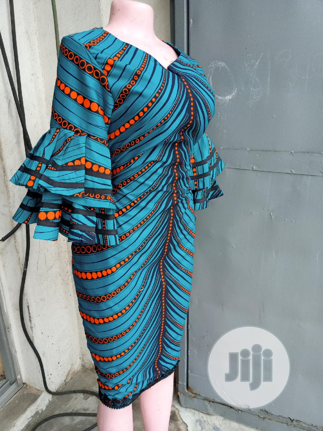 Sophisticated Ankara Dress | Clothing for sale in Ikeja, Lagos State, Nigeria