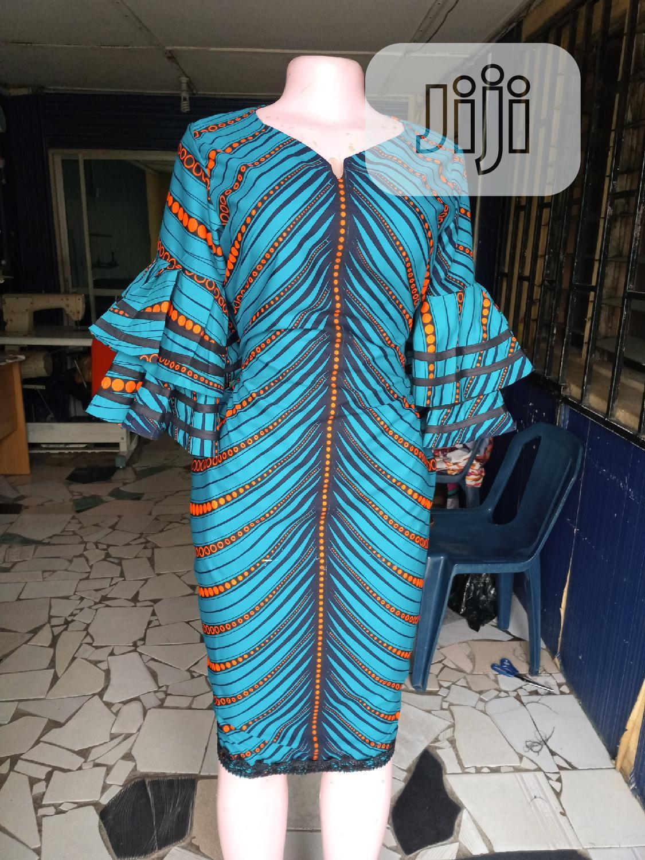 Classy Ankara Dress