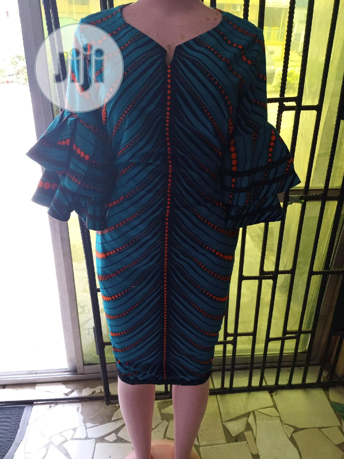 Classy Ankara Dress   Clothing for sale in Surulere, Lagos State, Nigeria