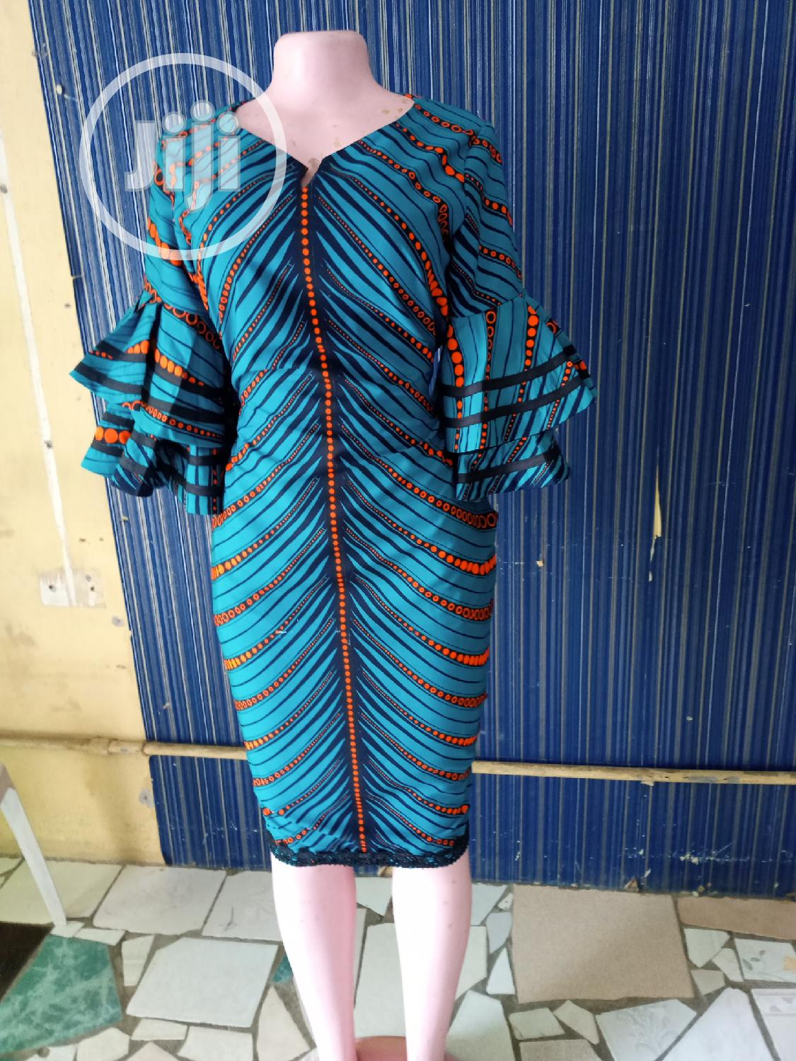 Classy Ankara Dress | Clothing for sale in Yaba, Lagos State, Nigeria