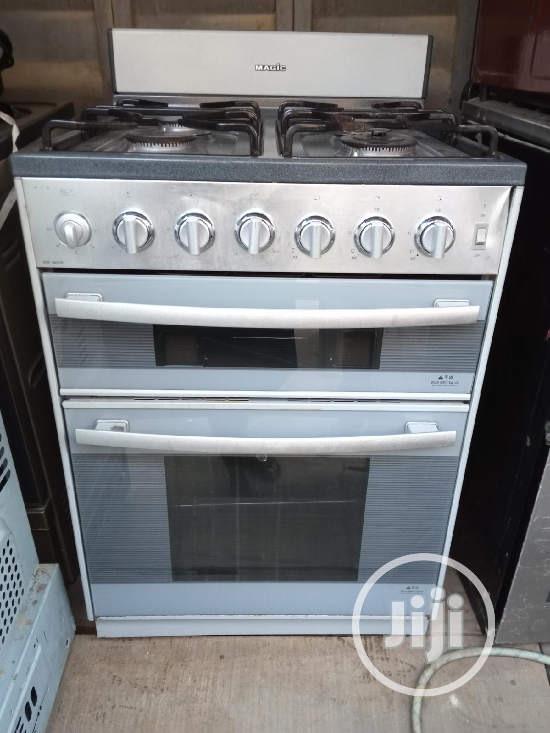 Strong Korea Four Burner Cooker With Oven and Griller