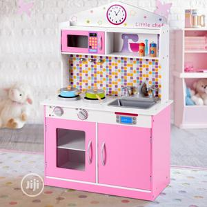 Kids Wooden Pretend Cooking Play Kitchen Set   Toys for sale in Lagos State, Lekki