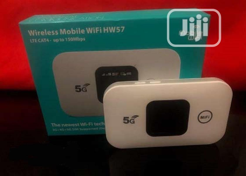 5G,4G,3G Wireless Mobile Wifi HW 57