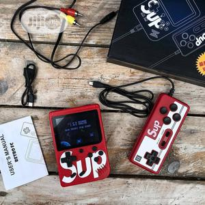 Sup Game Box 400 In 1 With Extra Pad - Can Connect To TV | Accessories & Supplies for Electronics for sale in Lagos State, Isolo