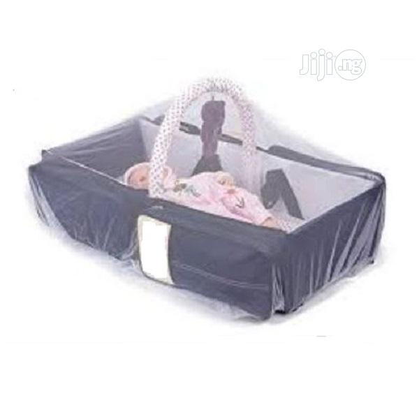 3 In 1 Baby Diaper Bag And Bed With Mosquito Net