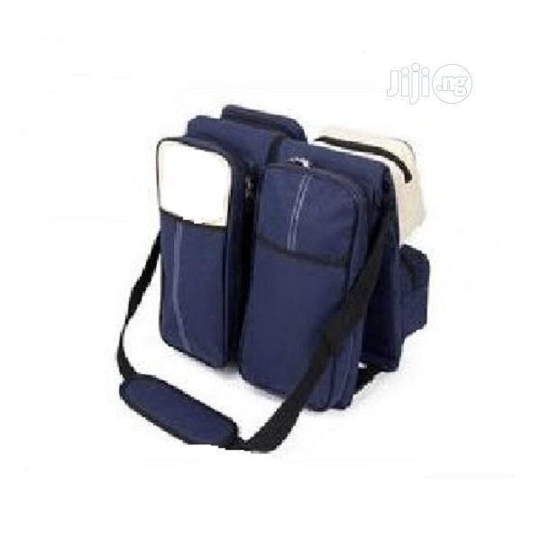 3 In 1 Baby Diaper Bag And Bed With Mosquito Net   Baby & Child Care for sale in Ikeja, Lagos State, Nigeria